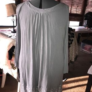 Peep Shoulder Dress